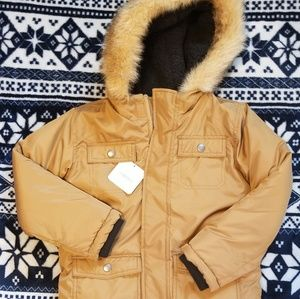 Boys size 5T coat.